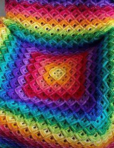 Shells Blanket Tutorial + Free Pattern