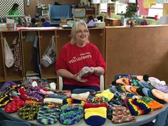Pat Studer reaches out to hundreds of children every year through her #crochet hats.