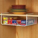 Closet Shelf Dividers, Closet Shelves, Small Kitchen Organization, Diy Kitchen Storage, Organization Ideas, Small Kitchen Decorating Ideas, Kitchen Ideas, Kitchen Hacks, Organized Kitchen
