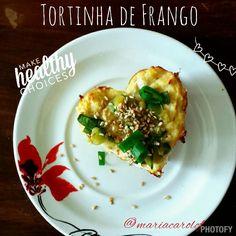 Tortinha de Frango low carb!