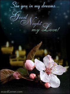 romantic good night greetings