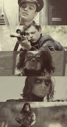Bucky my favourite marvel Charakter so far! And Sebastian stan is fucking hot 😏😂 Bucky Barnes, Sebastian Stan, Winter Soldier Bucky, Dc Movies, Marvel Movies, Marvel Dc, Captain America And Bucky, Bucky And Steve, James Buchanan