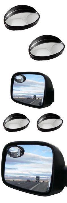 For Car 1 Pcs Stick-On Convex Rearview Blind Oval Shaped Blind Spot Mirror Aug 17