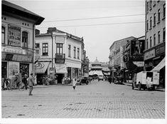 Strada Carol I – astăzi Strada Franceză - Bucurestiul meu drag Old City, Anastasia, Childhood Memories, Street View, Anton, Teachers, Romania, Bucharest, Old Town