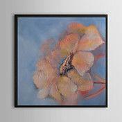 Pink Petal Floral Framed Oil Painting – AUD $ 112.15