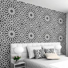 Image result for tile design stencil