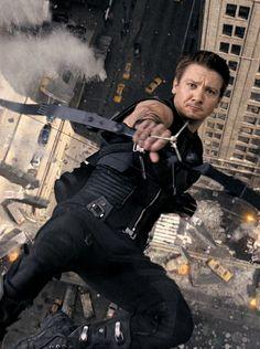 Hawkeye! (via http://tomhiddles.tumblr.com)