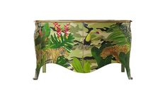 tropical painted furniture. Plain Furniture Moissonnier Flora And Fauna  Furniture Upcycle Ideas Pinterest Flora Paint  Furniture Decoupage Throughout Tropical Painted