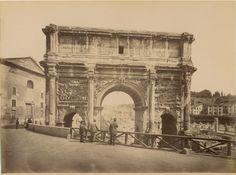 Arco di Settimio Severo (1875 ca.)