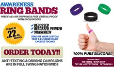 2400 Promotions : Order Your Kustom Shape Wristbandz Today : Stock or Custom Shapes Available : Buy Today!