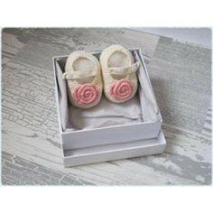 Hand Crochet Baby Mary Jane Shoes - Footwear - Fab Clothing & Footwear