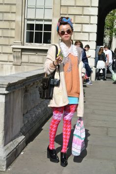 Street Style: London Fashion Week Spring/Summer 2013   Day 1