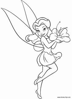 märchen malvorlagen | disney cartoon fairy tinkerbell
