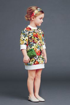 Dolce & Gabbana – Children Collection Gallery – Fall Winter 2014 2015 #JACQUARDS #ESTAMPADOS