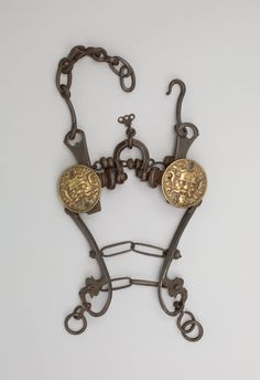 Итальянский мундштук (конец 16 века); Italian Curb Bit, late 16th century