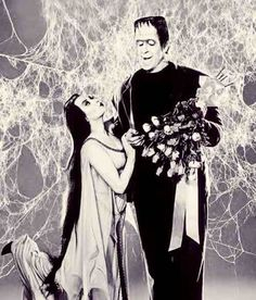 Herman & lily munster