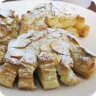 Almond-Filled Bear Claws - First got hooked on these at the Wildflower Bakery in Abingdon, VA! Puff pastry makes them awesome!