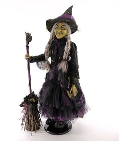 Brunhilda Witch 32 Inch Doll - Katherine's Collection