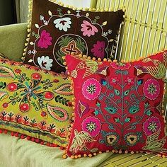 Cute Bohemian Floor Pillow And Chusions Decorating Ideas 36 - Bohemian Home İdeas