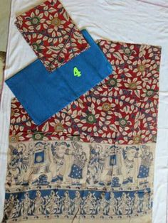 Kalamkari cotton dress materials