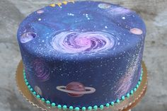 Galaxy cake - Google Search | Baking/Decorating | Pinterest | Birthday cakes, Birthdays and Google