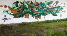 Graffiti Nijlân Leeuwarden (NL) October 2012 art kunst streetart LWD Friesland NL Nederland Photo by: Jascha Hoste