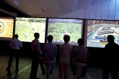 Giant Screen Video Games at your next Bar Mitzvah The Event Of A Lifetime, Inc.