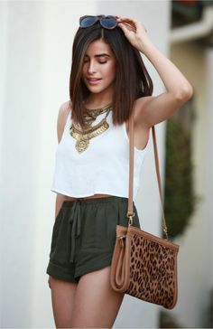 Shorts + Top Forever 21
