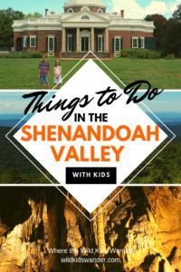 15 fun things to do in the Shenandoah Valley with kids! Monticello and other presidential homes, Skyline Drive and the Shenandoah National Park, as well as cave tours like Luray Caverns. - Where the Wild Kids Wander - Shenandoah Valley Shenandoah Caverns, Shenandoah Valley, Weekend Trips, Weekend Getaways, Day Trips, Cool Places To Visit, Places To Travel, Places To Go, Travel With Kids
