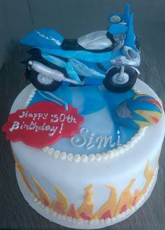Motocycle Cake