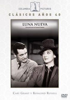 LUNA NUEVA. Serie Clásicos Años 40.  Dirigida per  Howard Hawks. Sony, 2011.