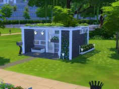The Sims Resource: Small modern house - 5x5 Chellenge lot by CherryNellie • Sims 4 Downloads  Check more at http://sims4downloads.net/the-sims-resource-small-modern-house-5x5-chellenge-lot-by-cherrynellie/