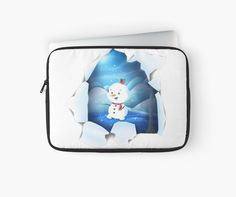 Tear It! ~ Snowbaby Line Laptop designed by We~Ivy. Presents For Friends, My Themes, Website Themes, Good Cause, Laptop Skin, Ipod Touch, Ipad Case, Tech Accessories, Laptop Sleeves