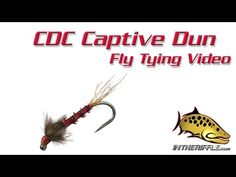 CDC Captive Dun Fly Tying Video Instructions