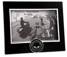 Harley Davidson Bar Shield Picture Frame 4x6 2000 Harley