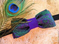 Галстук бабочка Павлинка №2 - галстук,галстук-бабочка,галстук бабочка