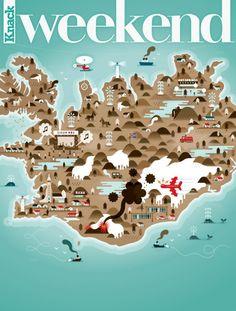 Weekend Knack Magazine Covers / Khuan + Ktron   AA13 – blog – Inspiration – Design – Architecture – Photographie – Art