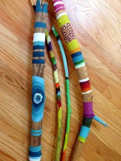 Image result for painted twigs