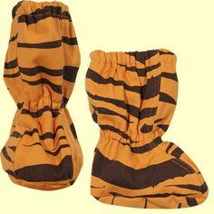 Tiger Booties by Mini Rodini: On sale: $17.90 #Booties #Mini_Rodini