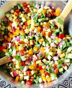 18. Chopped Vegetable Salad