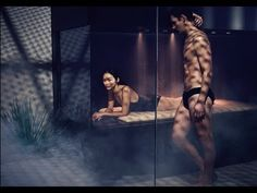 #Bathroom #HomeDesign #Inspiration #BathroomDesign #InteriorDesign #Deco #Decoration #Interior #Home #HomeDecor #LifeStyle #Luxury #luxurylifestyle #BienEtre #Detente #HomeWellness #Perfect #DreamShower Spa Inspired Bathroom, Bathroom Spa, Spa Design, House Design, Dream Shower, Sauna Room, Relax, Portrait Lighting, Bathroom Collections