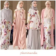 Ria miranda Modest Outfits, Modest Fashion, Skirt Fashion, Fashion Dresses, Fashion Blouses, Muslin Dress, Hijab Look, Hijab Fashion Inspiration, Islamic Fashion