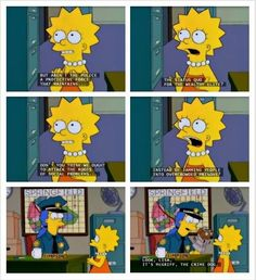 The Simpsons truely do give it straight.