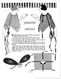Les Modes de la femme de France | 1921-07-09 | Gallica