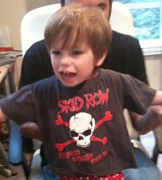 #YouthGoneWild #RockBabyClothes #SkidRow #RockToddlerTshirts #KidsRockTshirts starting at $14.95 at #Kiditude