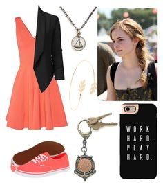 """""""Day Out"""" by fashionablehottie25 on Polyvore featuring Opening Ceremony, LE3NO, Vans, Emma Watson, Chart Metal Works, Accessorize, Casetify and American Coin Treasures"""