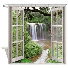 Dangar Falls Shower Curtain