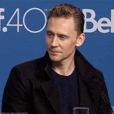 Tom Hiddleston at the press conference for High-Rise at TIFF 2015. (Gif by hard-on-for-hiddleston.tumblr http://hard-on-for-hiddleston.tumblr.com/post/152665656287)