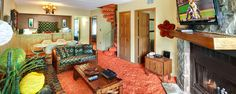Groovy Getaway Gatlinburg Vacation Rental | Retro theme vacation rental in Gatlinburg, Tennessee
