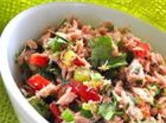 Jodie's Tuna Pico De Gallo Salad